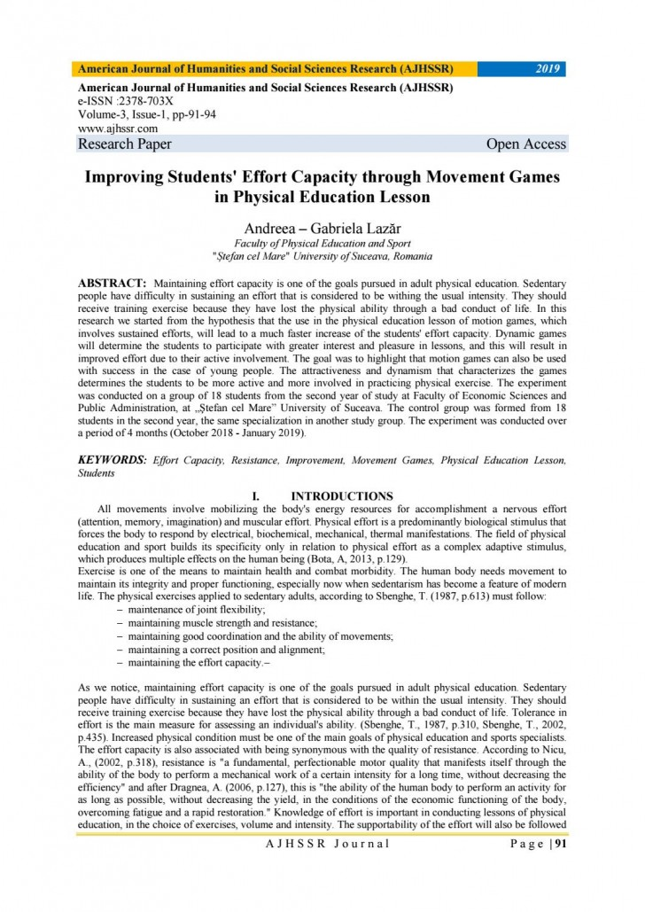 011 Research Paper Page 1 Physical Education Imposing Papers Title Rubric Thesis Pdf 728