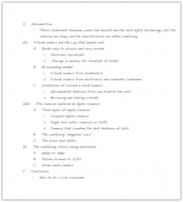011 Research Paper Sample Outlines For Awful Papers Writing Example Apa Format 360