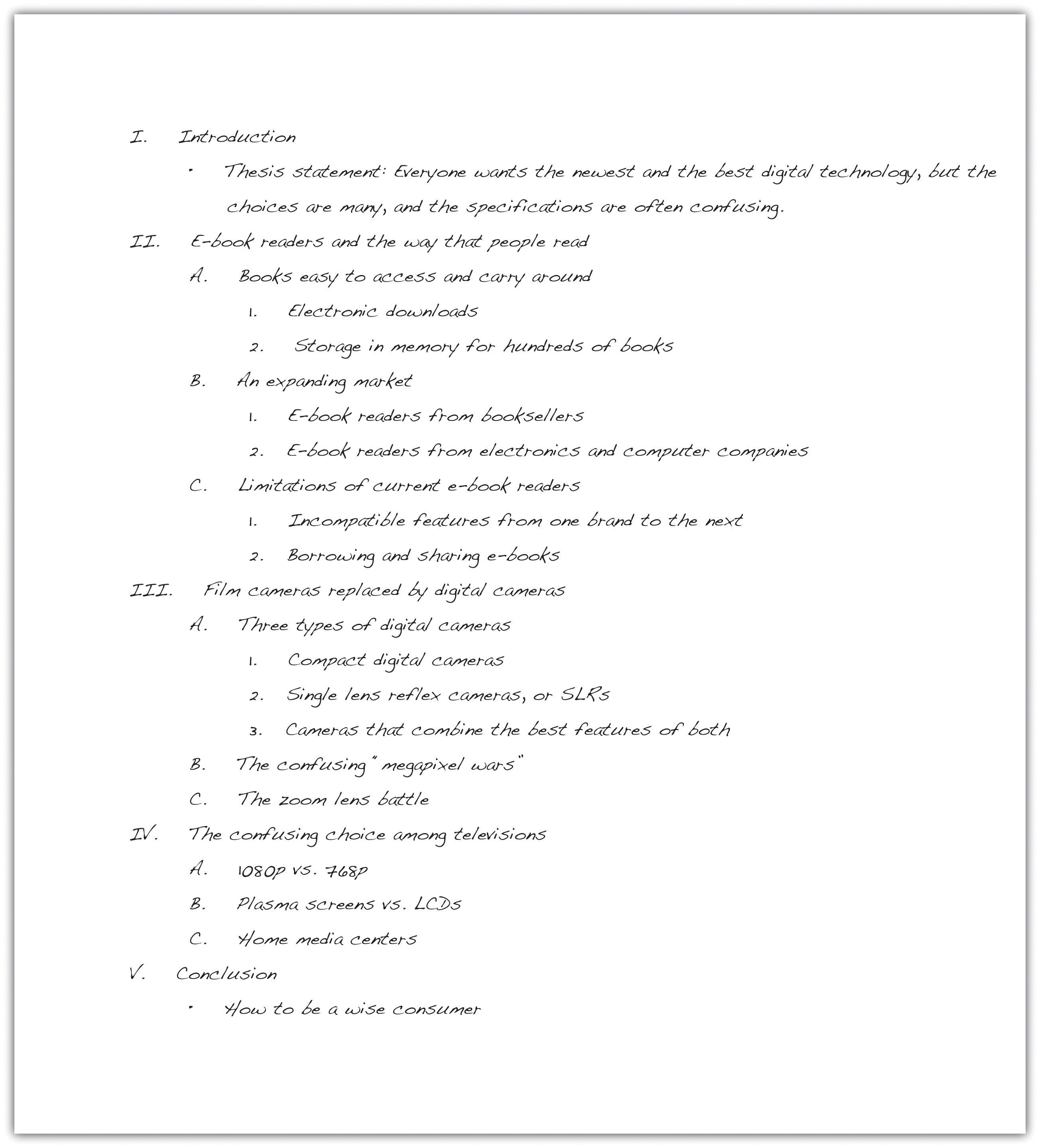 011 Research Paper Sample Outlines For Awful Papers Free Example Writing Full