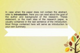011 Research Paper Summary For Fearsome Writing Executive
