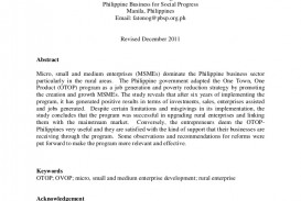 011 Research Paper Theotop Philippines2011a4 Phpapp02 Thumbnail Poverty In The Philippines Remarkable Abstract 320
