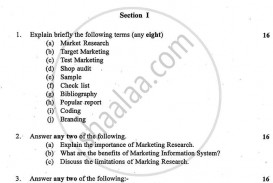 011 Research Paper University Of Mumbai Bachelor Bcom Marketing Ty Yearly Pattern 3rd Year Tybcom 2016 2537f6561fc084a7fab79ac989b7936be Top Question Topics Psychology Generator