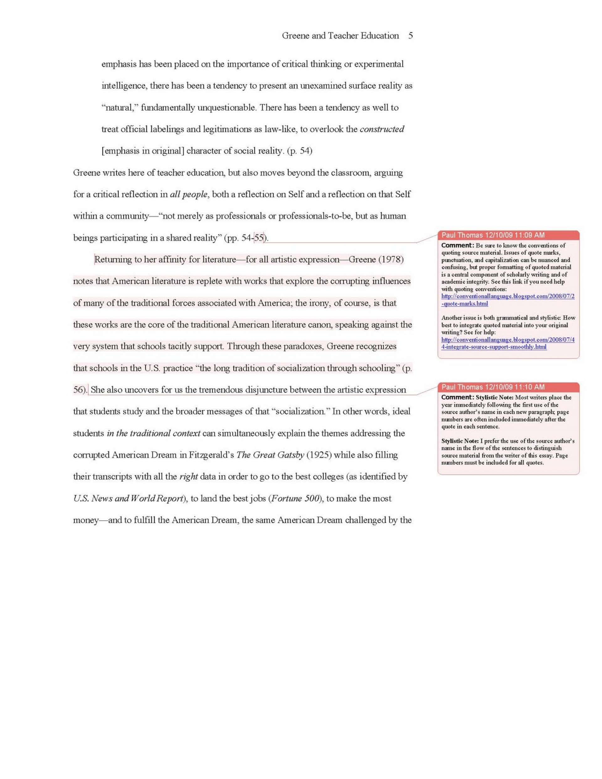 011 Sample Apa Essay Paper 309858 Research Citation Formidable Example Format In 1920