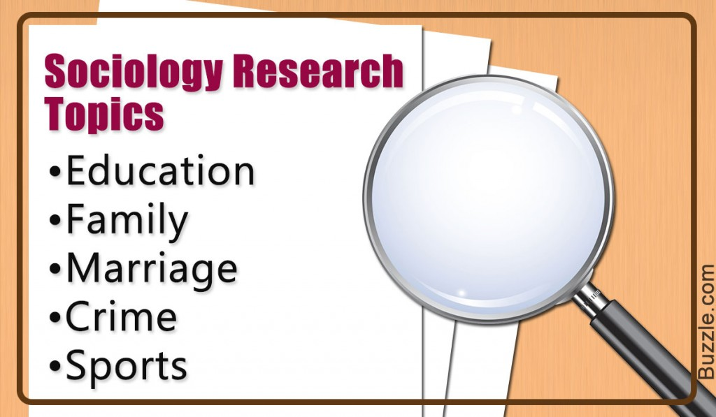 011 Sociology Research Topic Paper Academic Phenomenal Ideas Educational Large