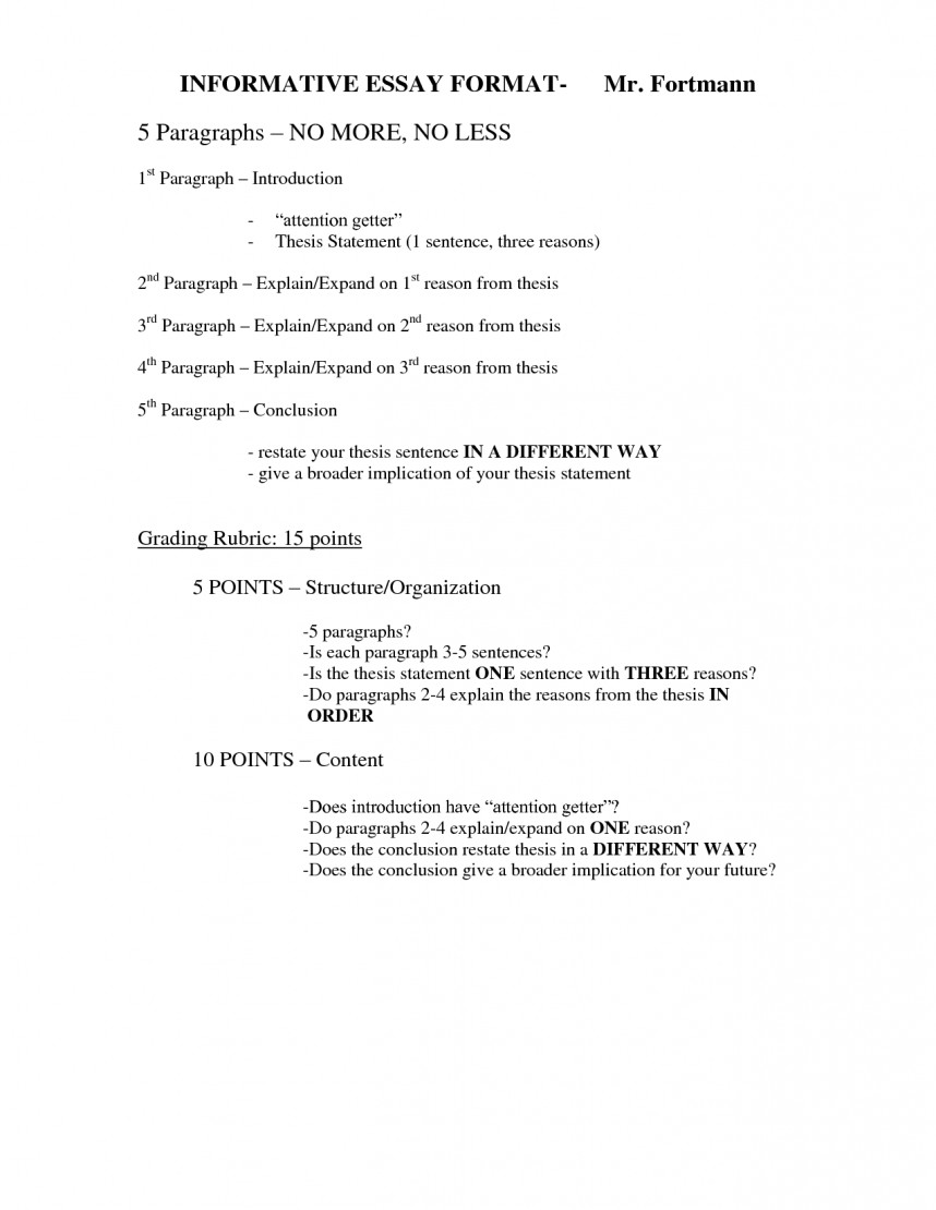 012 8th Grade Science Research Paper Outline Stunning