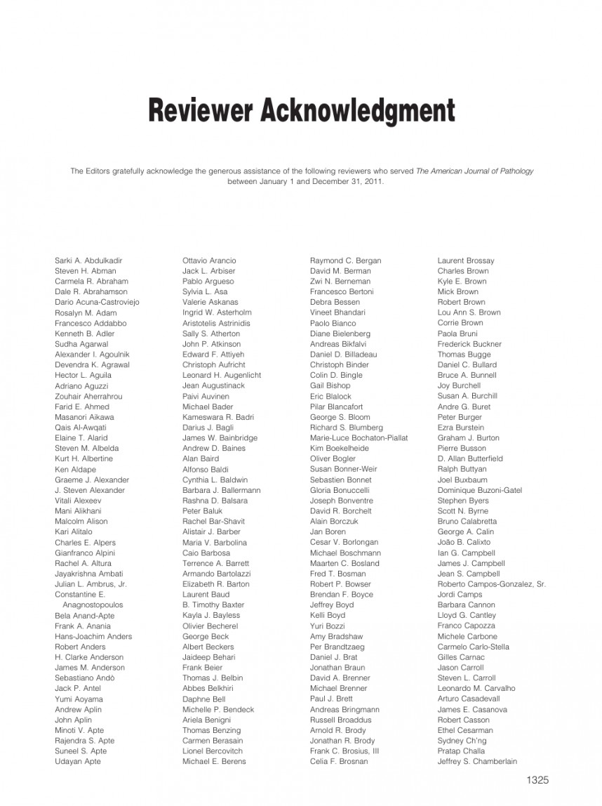 012 Acknowledgement Example For Research Rare Paper Pdf