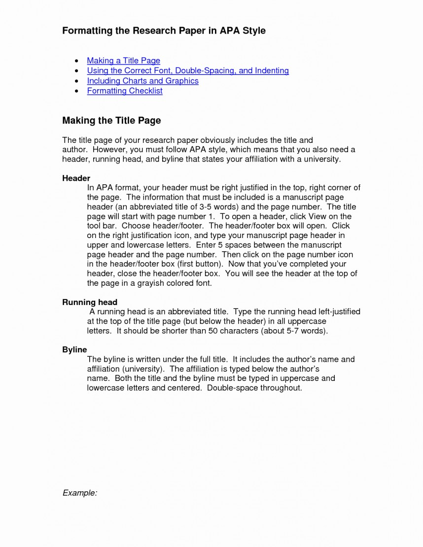 012 Apa Format Research Paper Template New Heading Example Frightening Headings And Subheadings Proper