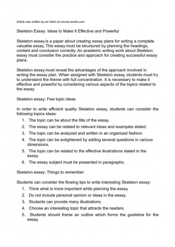 012 Art History Research Paper Outline Awful Template 360