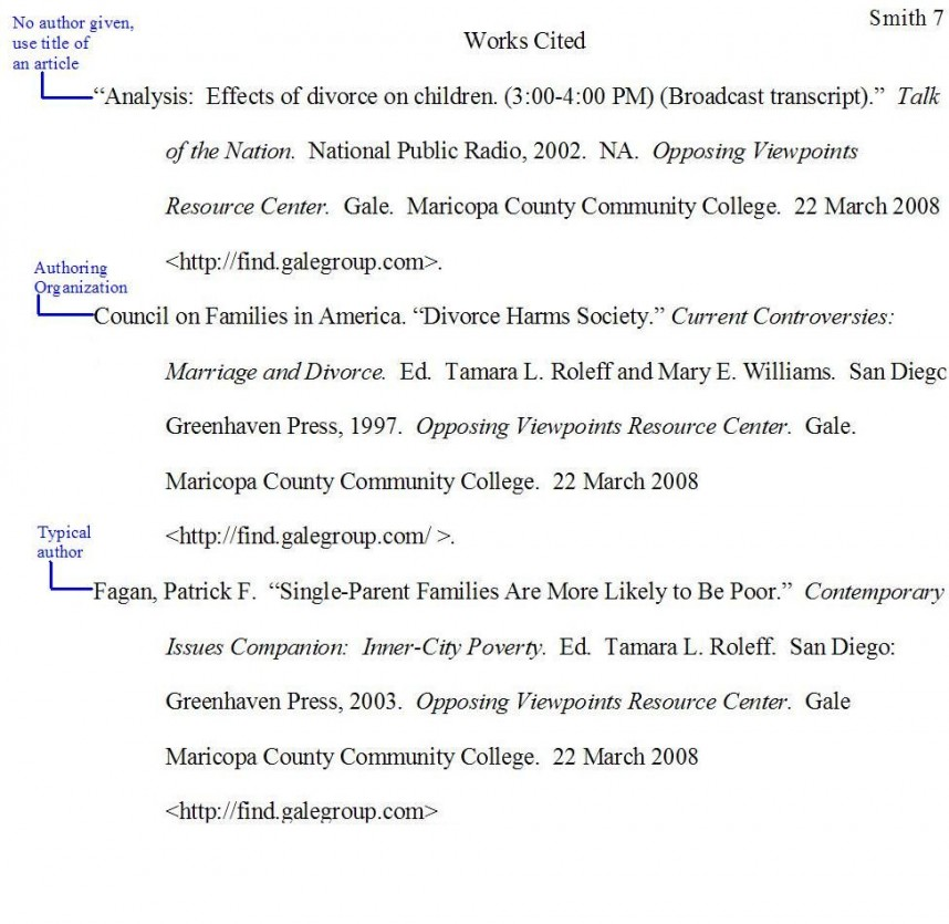 012 Citing Websites In Research Paper Mla Exceptional A Website Format