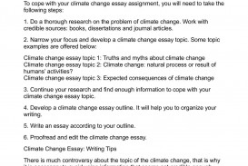 012 Climate Change Essay Topics Uncategorized Global Warming Topic Ways To St Oracleboss Research Paper20 Paper Unusual Ideas For High School Good 320
