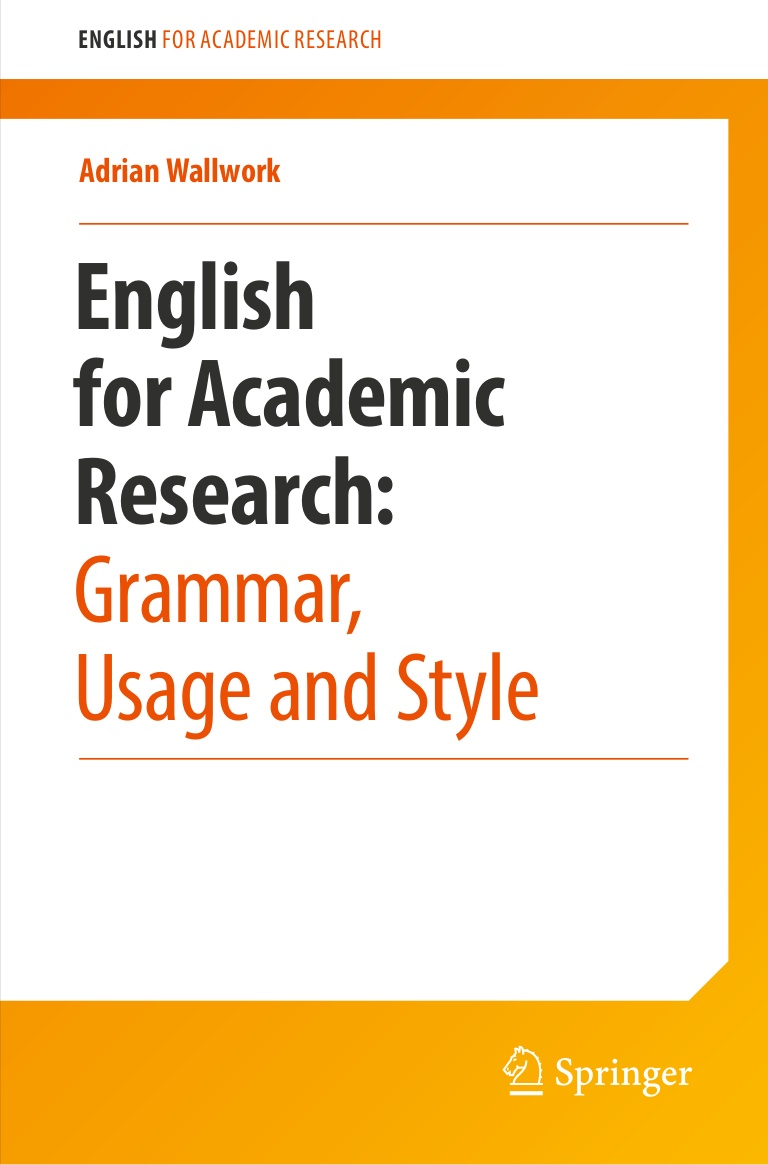 012 Englishforacademicresearchgrammarusageandstyle Thumbnail Research Paper English For Writing Papers Adrian Wallwork Marvelous Pdf 2011 Full
