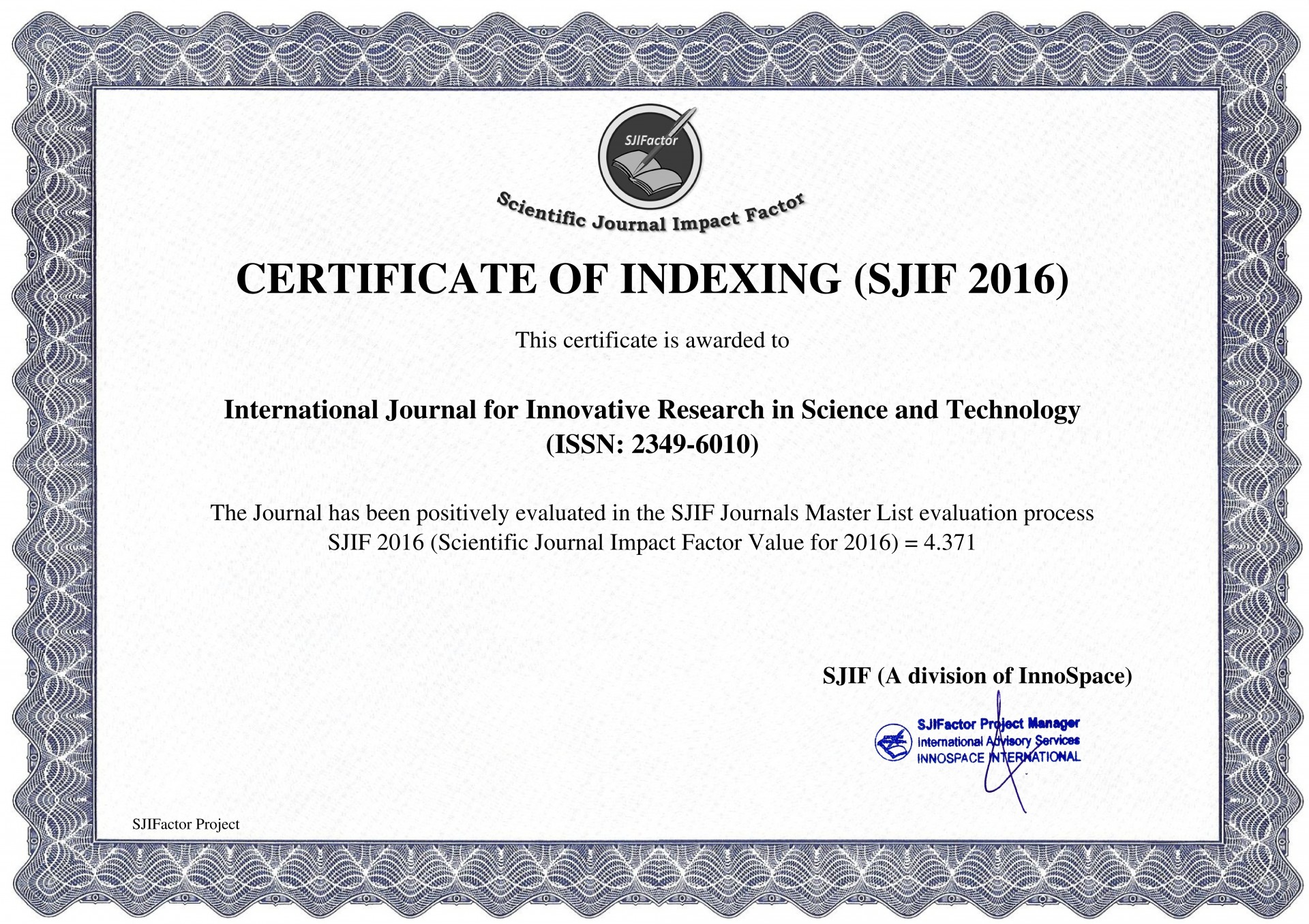 012 Impact Factor Research Paper How To Publish In International Journal Free Unusual Pdf 1920