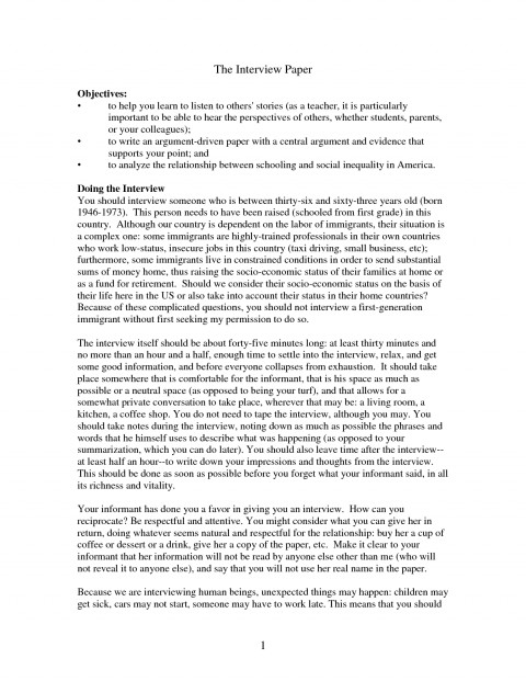 012 Interview Paper Apa Format Example 309310 Research Of Case Impressive Study In Education Writing 480