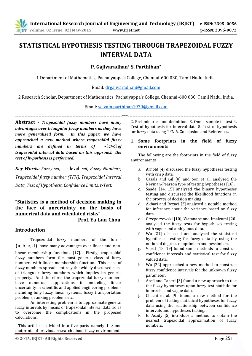 012 Largepreview Hypothesis Testing In Research Awesome Paper Pdf Full