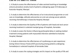 012 Listofresearchprojectscmcvellore Phpapp01 Thumbnail Cancer Research Paper Shocking Ideas Topic Breast