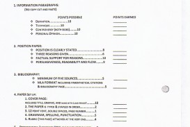 012 Middle School Research Paper Rubric Research20paper202 Dreaded Pdf Science Fair
