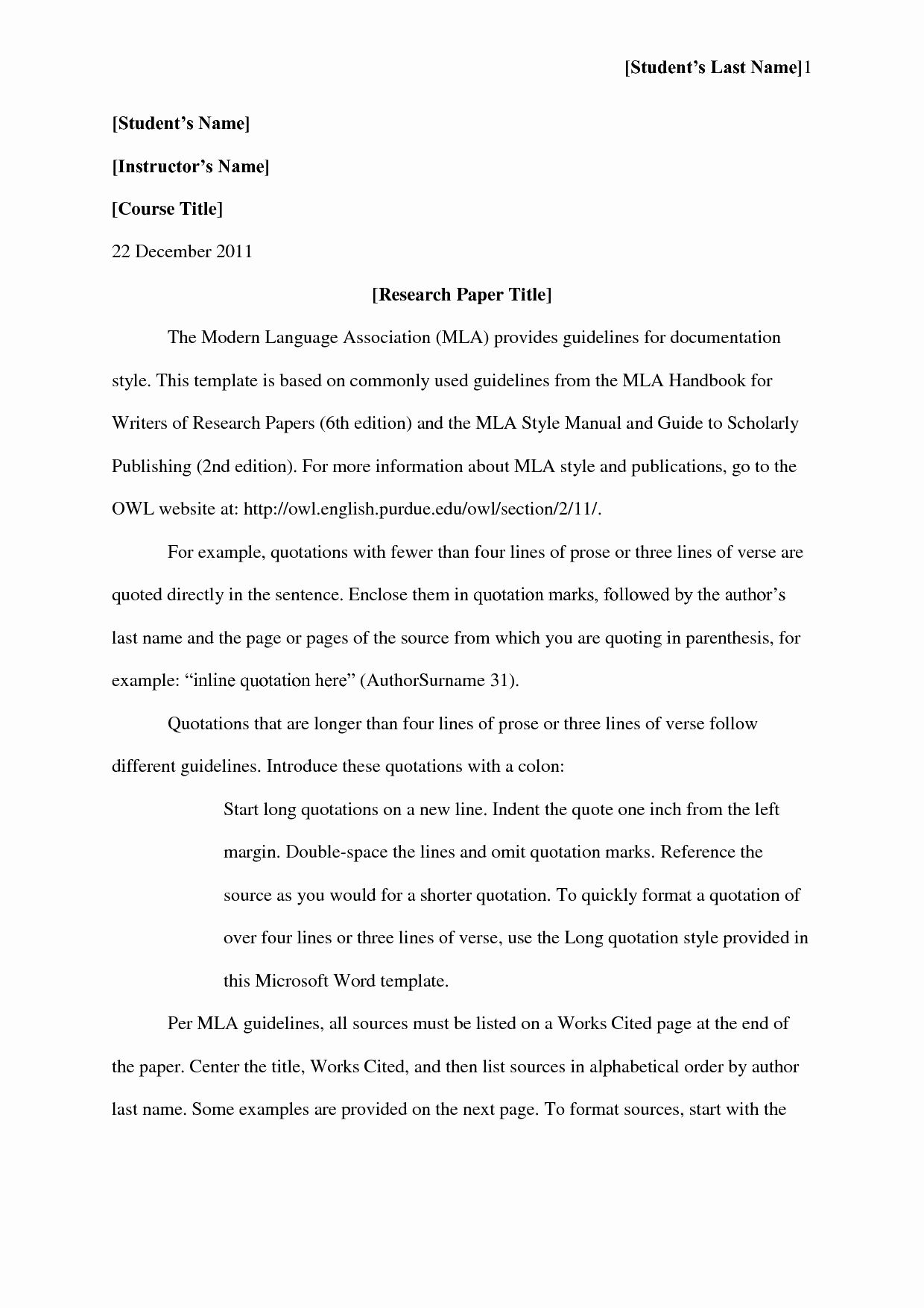 012 Mla Title Page Template Awesome Format Works Cited Scarlet Letter Best Of Apa Style Essay Research Impressive Purdue Owl Sample Reference Example Full