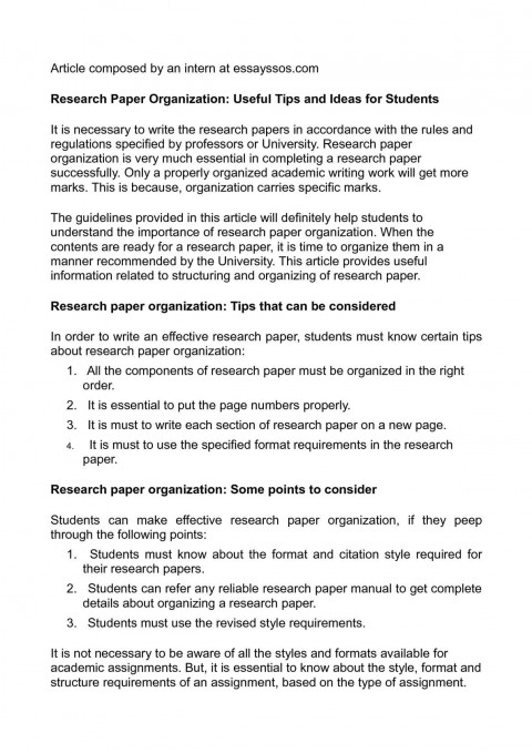 012 P1 Research Paper Papers Surprising Ideas High School Topics Science Writing 480