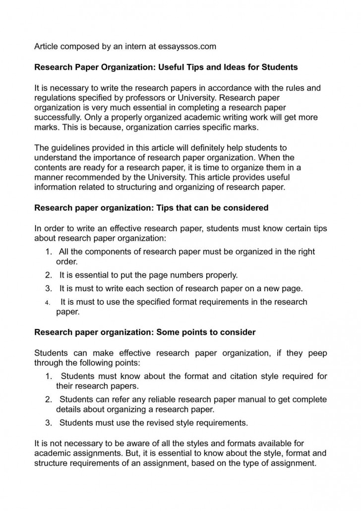 012 P1 Research Paper Papers Surprising Ideas High School Topics Science Writing 728
