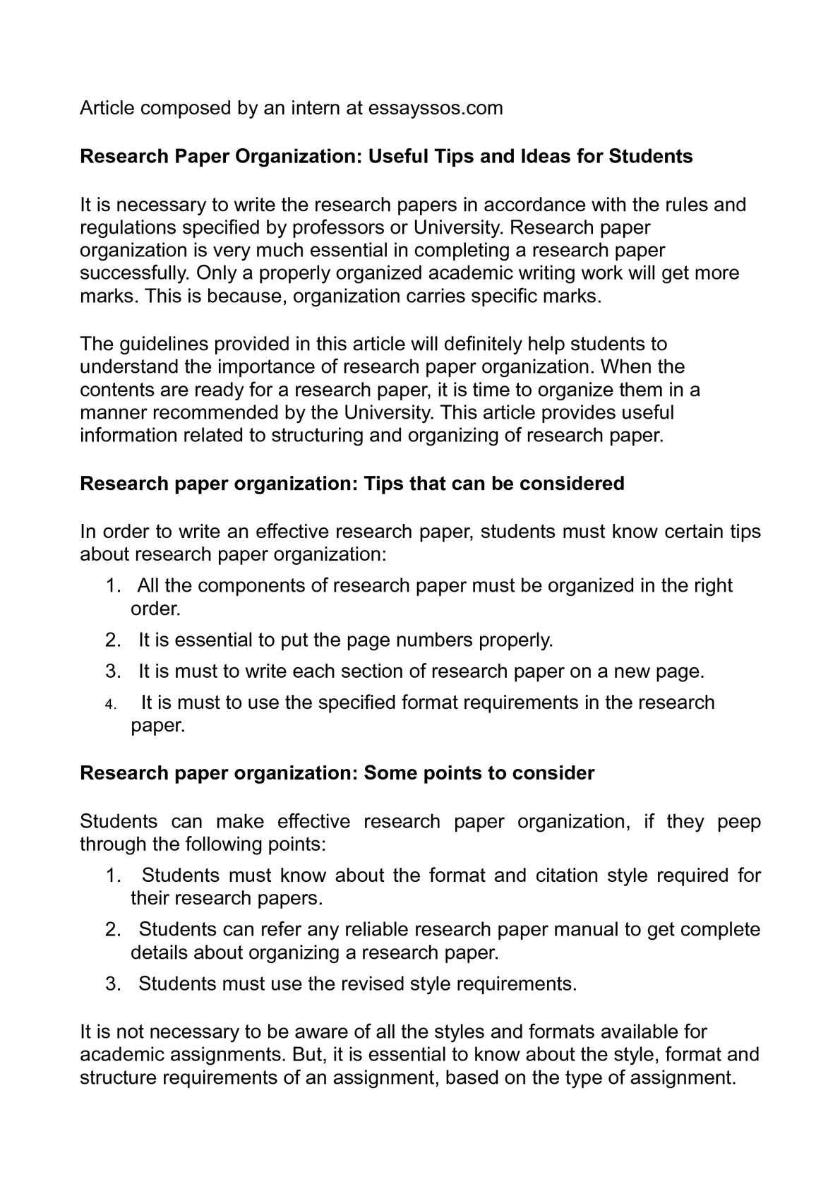 012 P1 Research Paper Papers Surprising Ideas High School Topics Science Writing Full