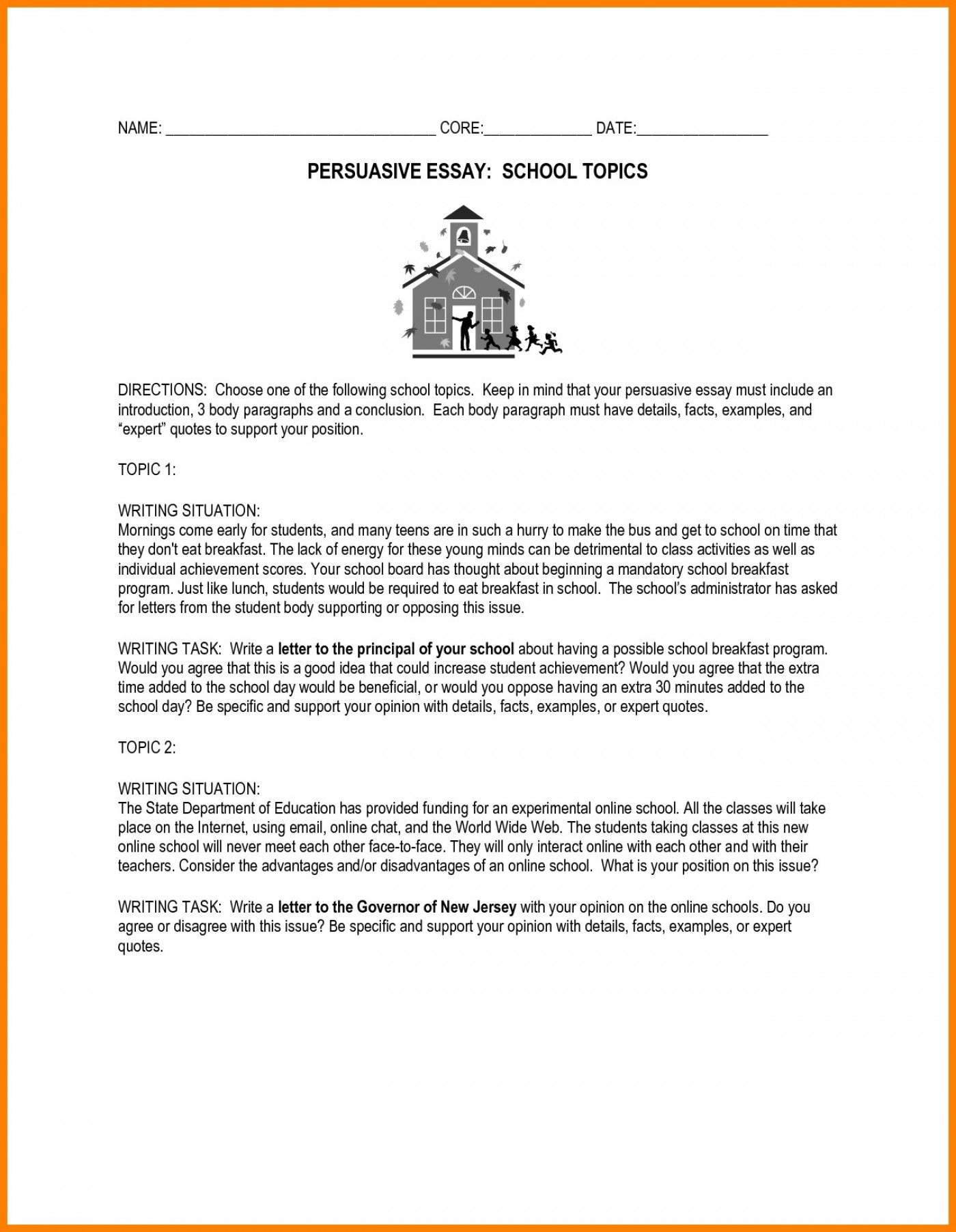 persuasive research paper topics for high school military essay    persuasive research paper topics for high school letter sample new essay  writing prompts th grade