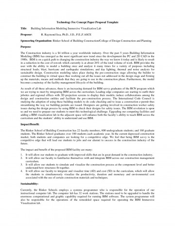 012 Proposal Template For Research Paper Example Beautiful A Of Writing 360