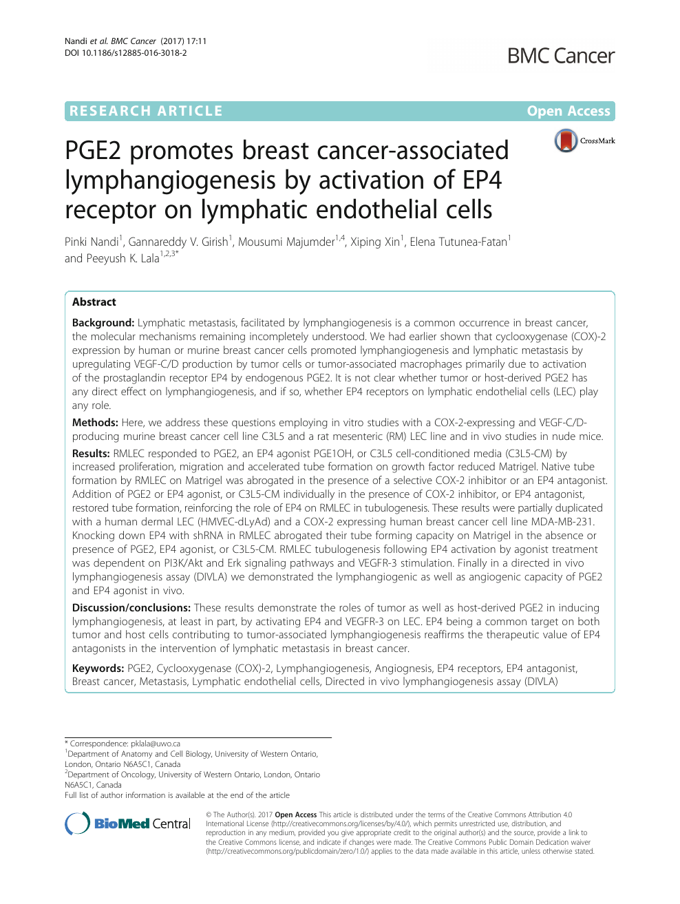 012 Research Paper Breast Cancer Topics Surprising Full