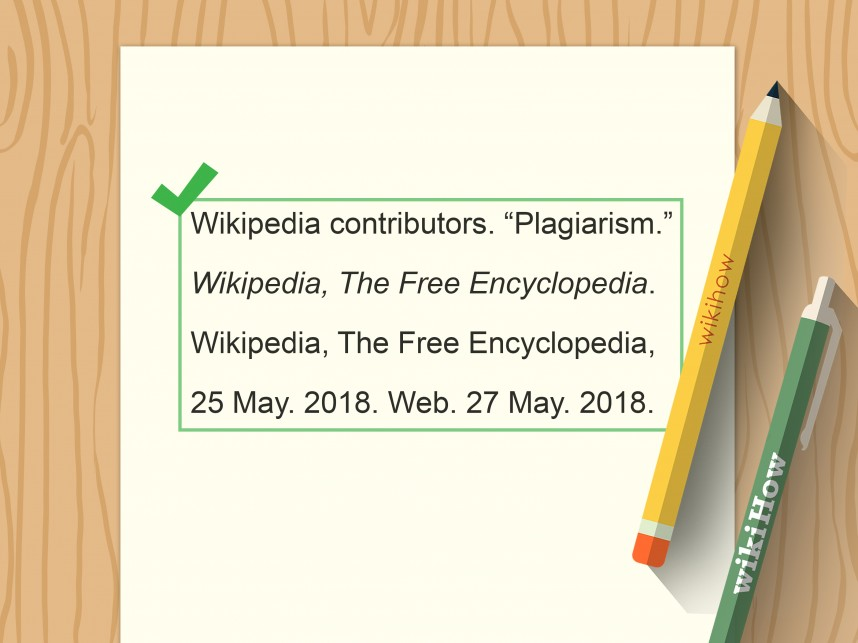 012 Research Paper Citations For The Mla Are Found Where Cite Wikipedia Article In Format Step Impressive
