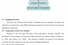 012 Research Paper How To Make Table Of Contents In Methodology Thesis Exceptional A 320