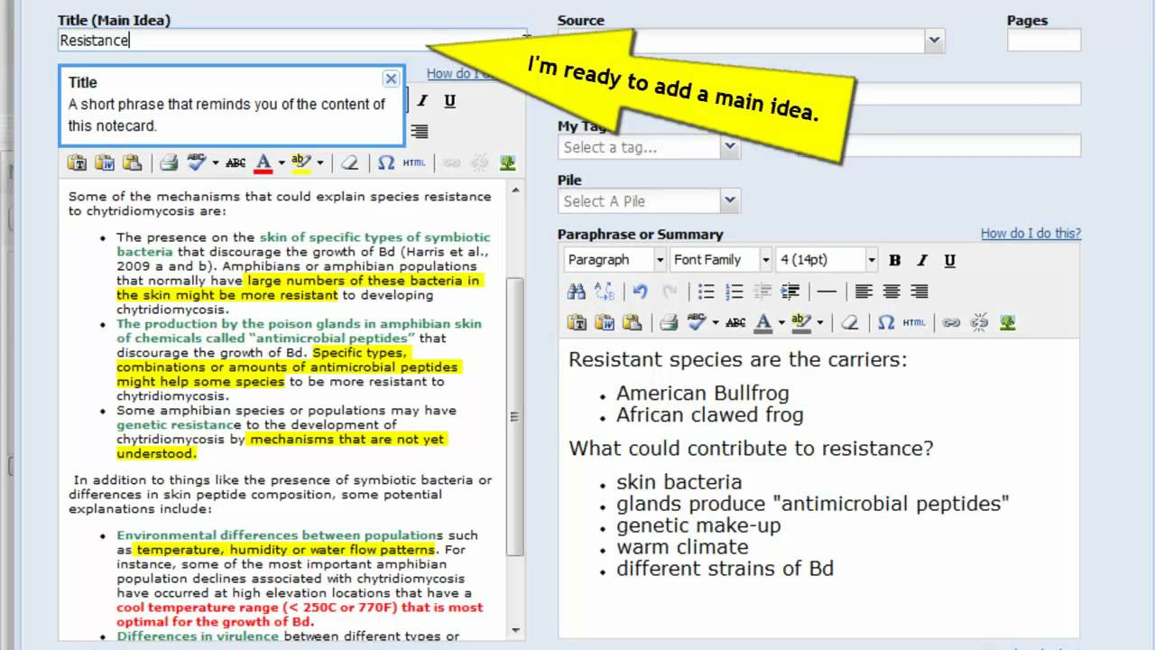 012 Research Paper Maxresdefault Example Of Notecards Fascinating For How To Write A Mla Writing Full