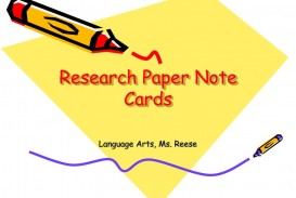 012 Research Paper Note Cards L Rare For Formatting Notecards Papers Mla Digital