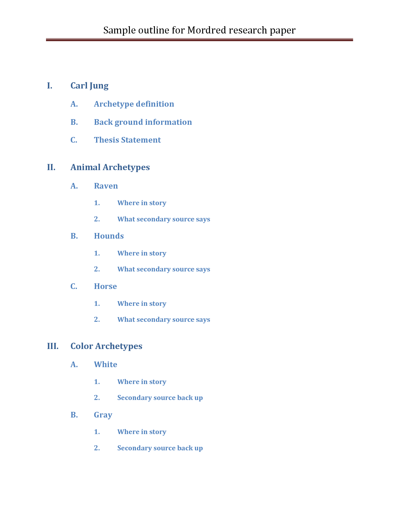 012 Research Paper Outlines 474660 Career Astounding Outline Example Full