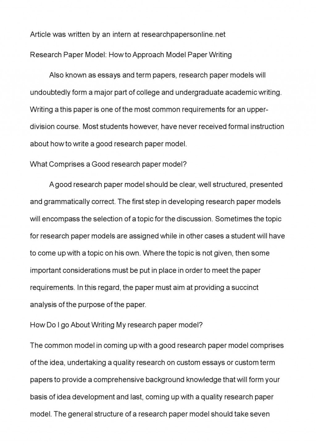 012 Research Paper P1 Correct Order Of Wonderful A Sequence Steps For Writing Large