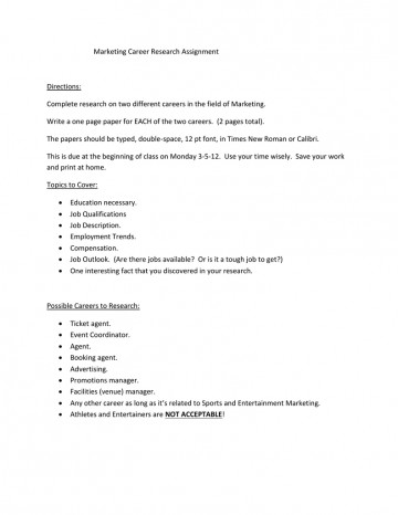 012 Research Paper Papers On Careers 006189065 1 Remarkable Examples Of 360