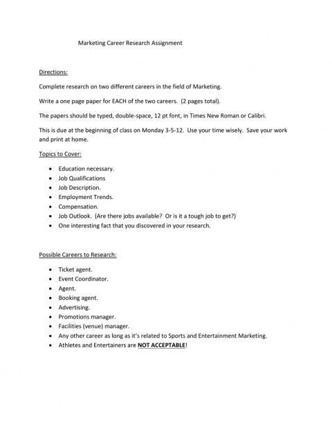 012 Research Paper Papers On Careers 006189065 1 Remarkable Examples Of 480