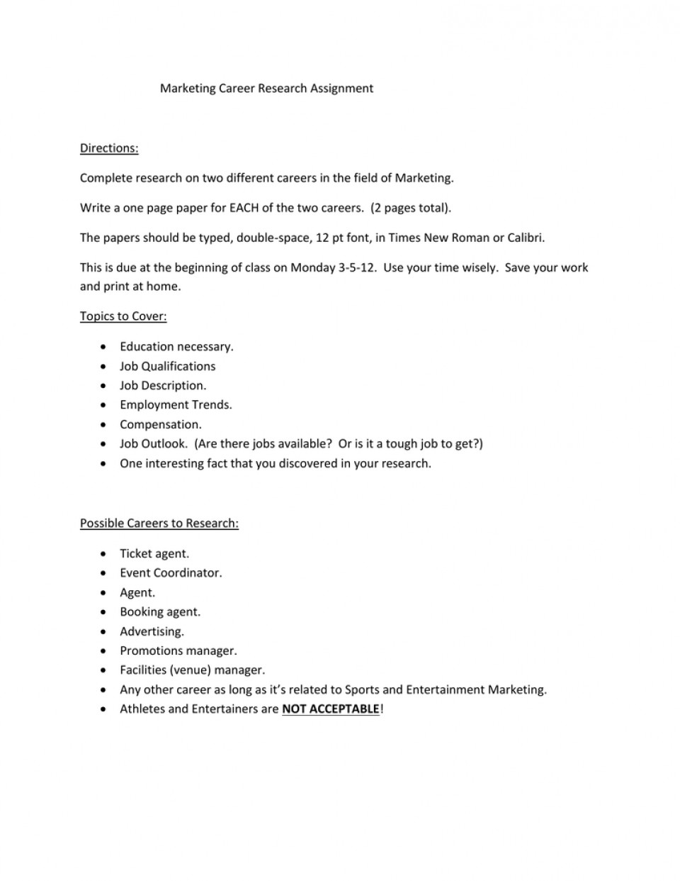 012 Research Paper Papers On Careers 006189065 1 Remarkable Examples Of 960