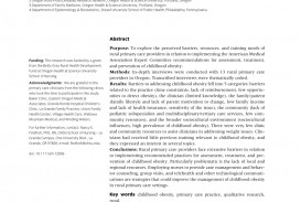 012 Research Paper Primary Article On Childhood Obesity Imposing 320