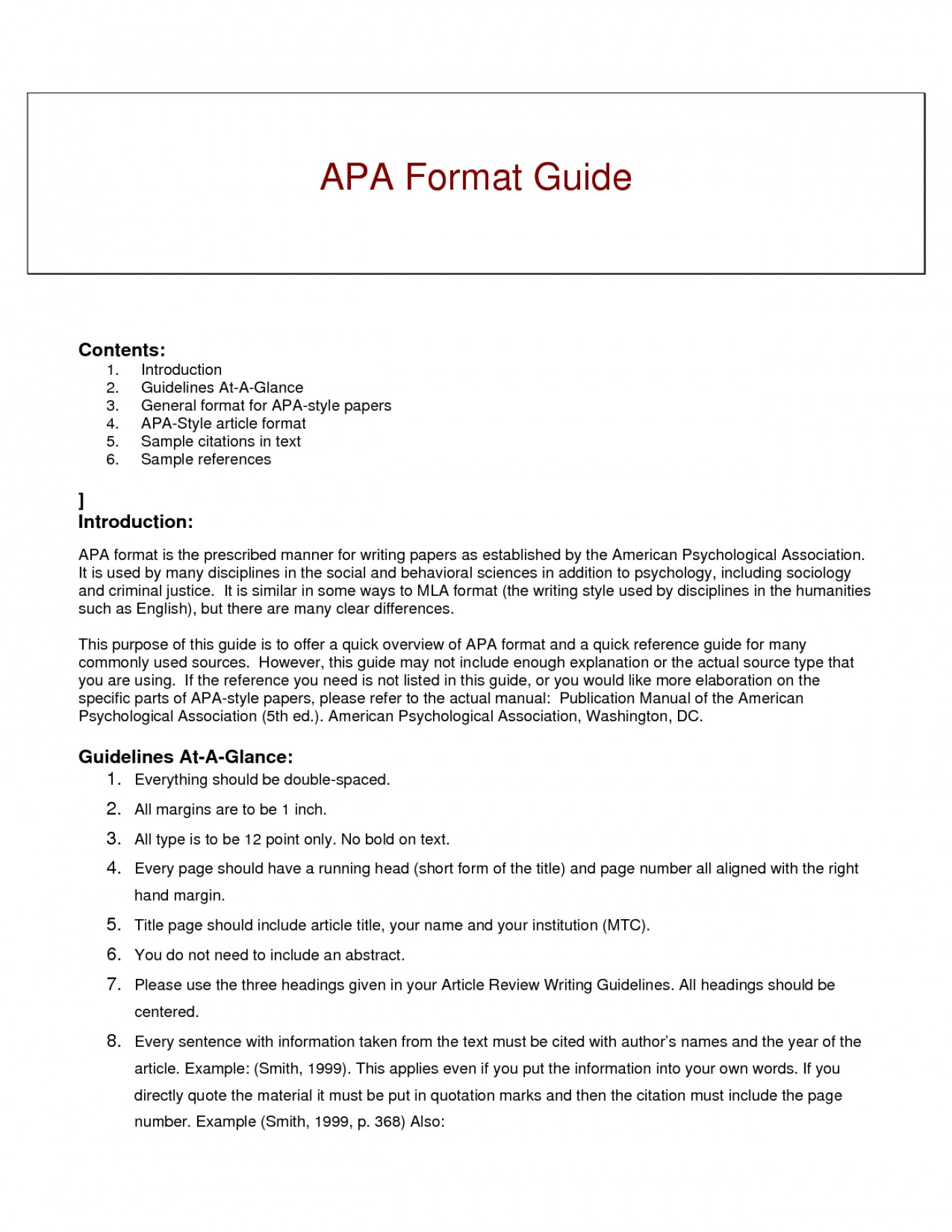012 Research Paper Short Apa Format Resume Example Of Guide For Writing Style Excellent A Papers 1400