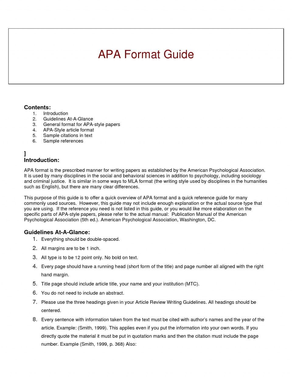 012 Research Paper Short Apa Format Resume Example Of Guide For Writing Style Excellent A Papers 960