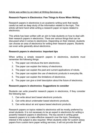 012 Topics To Write Research Paper On Beautiful A Persuasive Computer Science 360