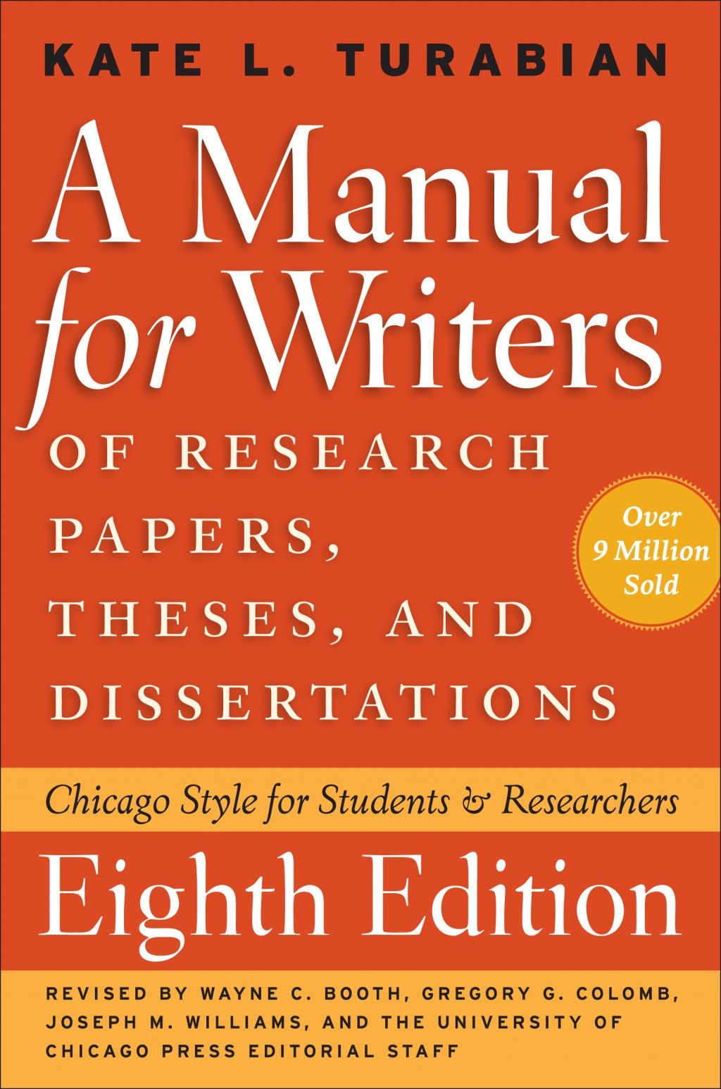 012 Turabian Guide Cover Manual For Writers Of Researchs Theses And Dissertations 9th Edition Pdf Wonderful A Research Papers Large