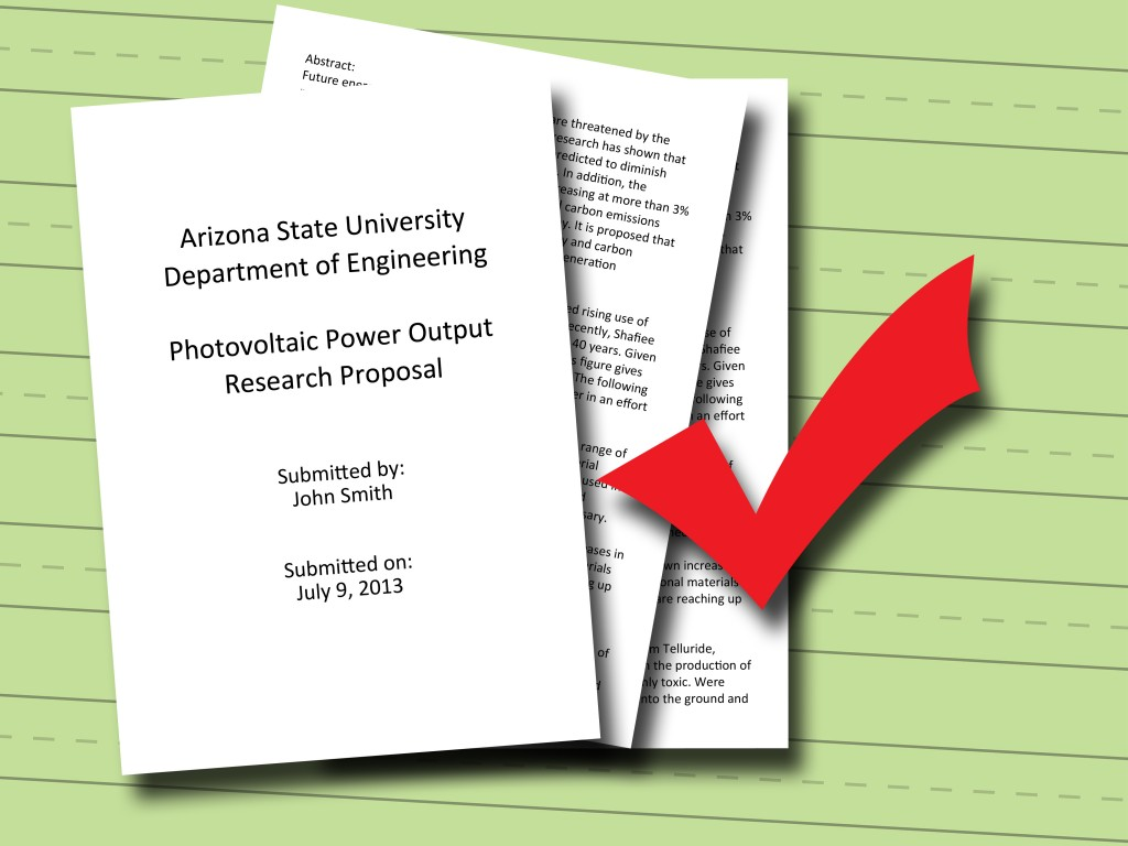 012 Write Research Proposal Step Example Of Paper In Impressive Education Large