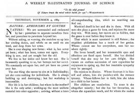 013 1200px Nature Cover2c November 42c 1869 Research Paper Best Journals To Publish Stunning Papers In Computer Science List Of