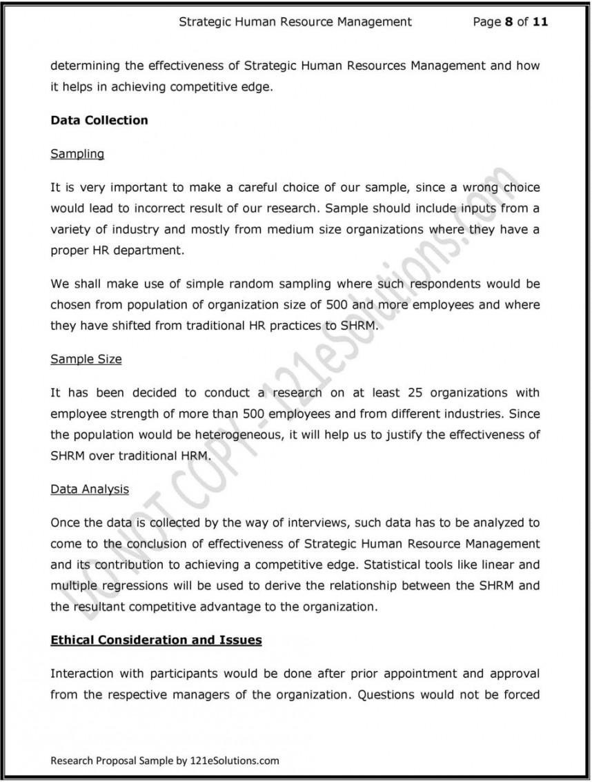 013 Action Research Proposal Paper Examples Page 8 Breathtaking Sample Papers 868