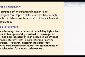 013 An Example Of Research Paper Thesis Fantastic A Statement