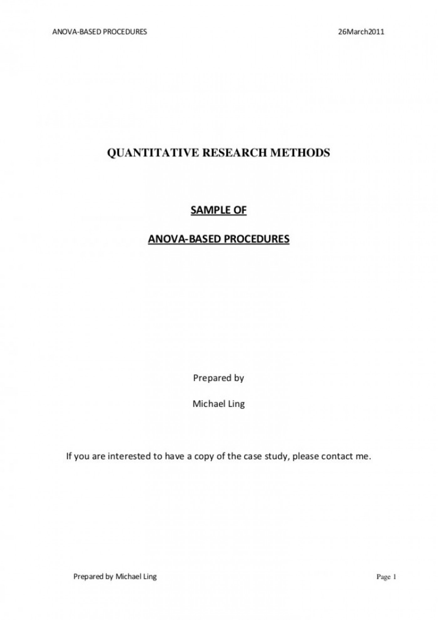 013 Asa Format Research Paper Example Style Title Page Singular 1400