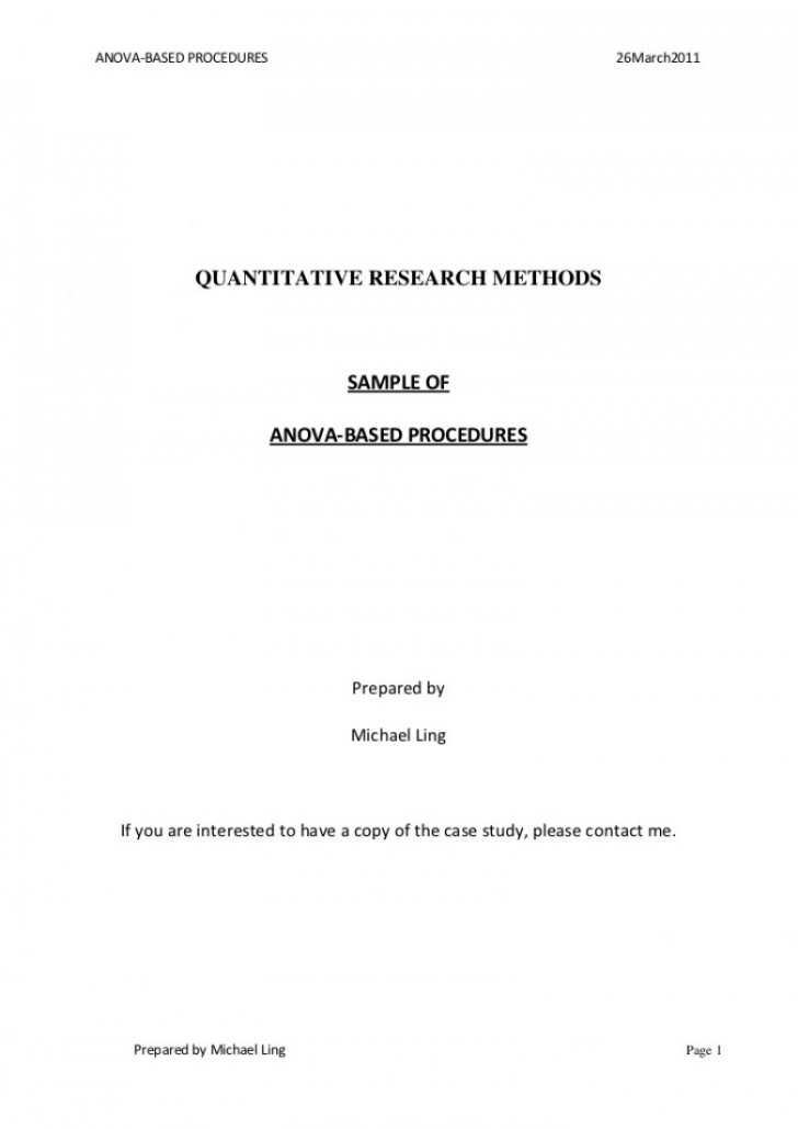 013 Asa Format Research Paper Example Style Title Page Singular 728