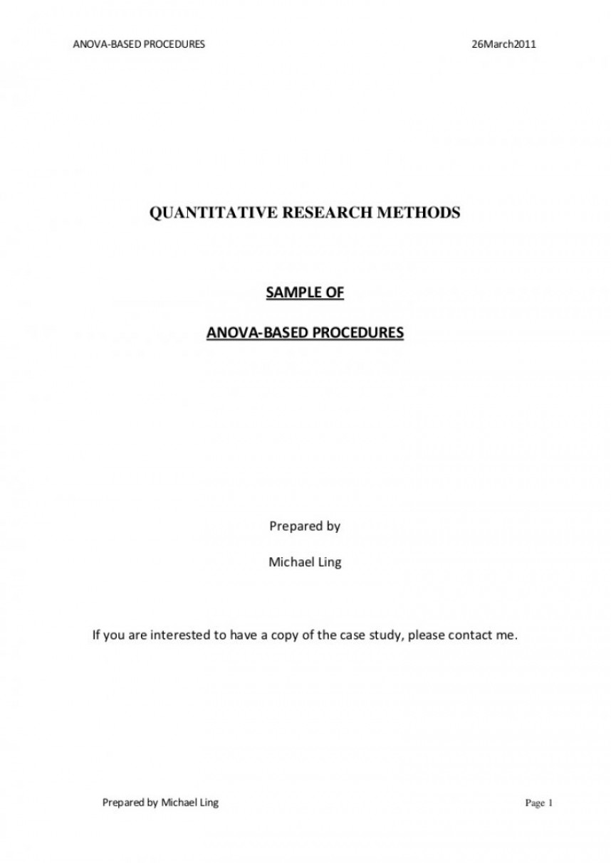 013 Asa Format Research Paper Example Style Title Page Singular