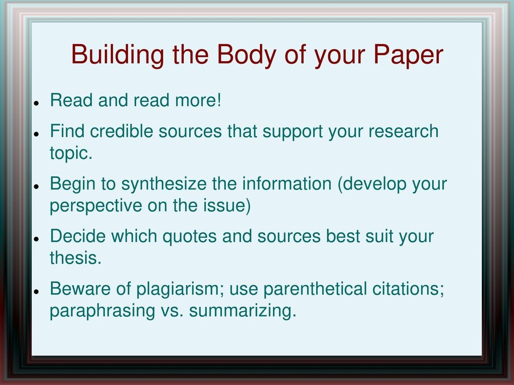 013 Credible Sources For Research Papers Paper Awful High School List Of Large