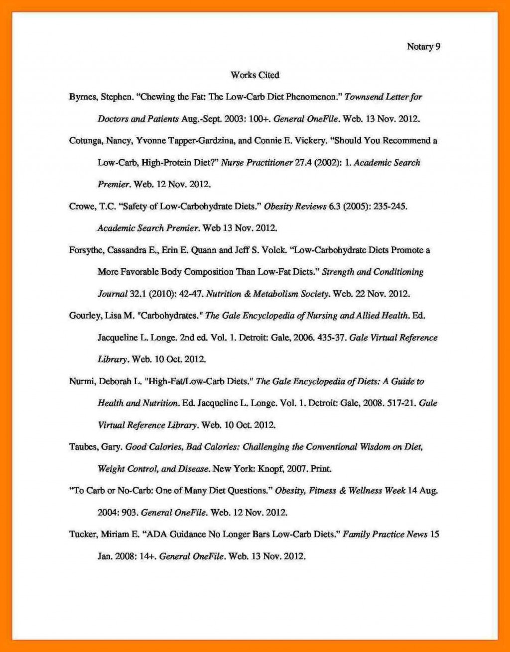 013 Do Works Cited Page Research Paper Mla Format For Sample What Is Bibliography Unique Examples Large